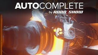 AutoComplete: Bugatti tested its new 3D-printed titanium brakes to hell and back