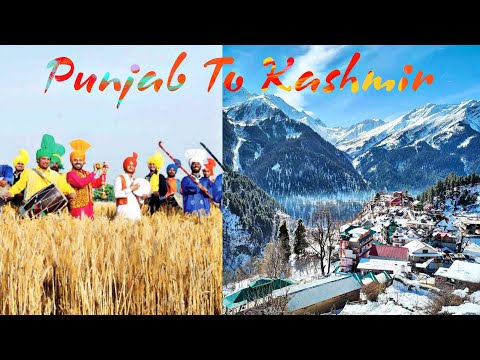 #PUNJAB TO #KASHMIR | #TRAVEL #VLOG-12 |