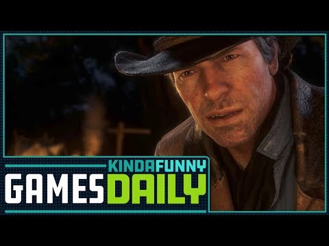 Red Dead Redemption 2 News -  Kinda Funny Games Daily 09.28.17