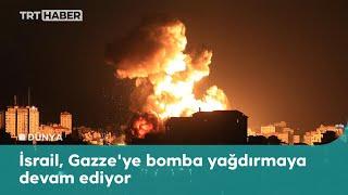 İsrail bombalamayı sürdürüyor: TRT Muhabiri canlı yayında yakalandı