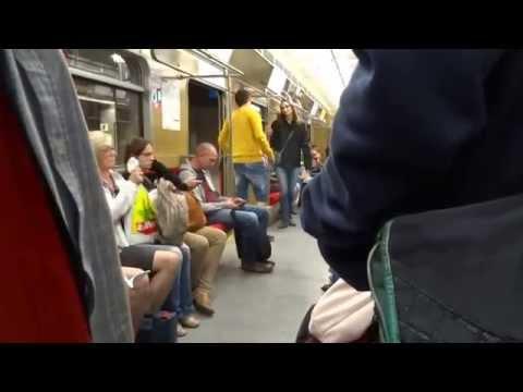 В Варшавском метро - Warsaw Subway (Underground Train), Metro