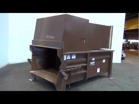 Used- Marathon Equipment RamJet Stationary Compactor - Stock # 44282001