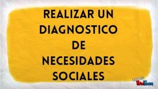 Diagnostico de necesidades sociales