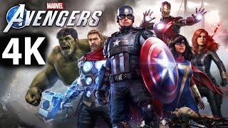 Marvel's Avengers Full Game Walkthrough - No Commentary (4K 60FPS) Avengers Main Story