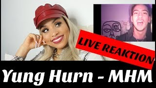 Yung Hurn – MHM (Official Video) live reaction | Jennyfromtheblog
