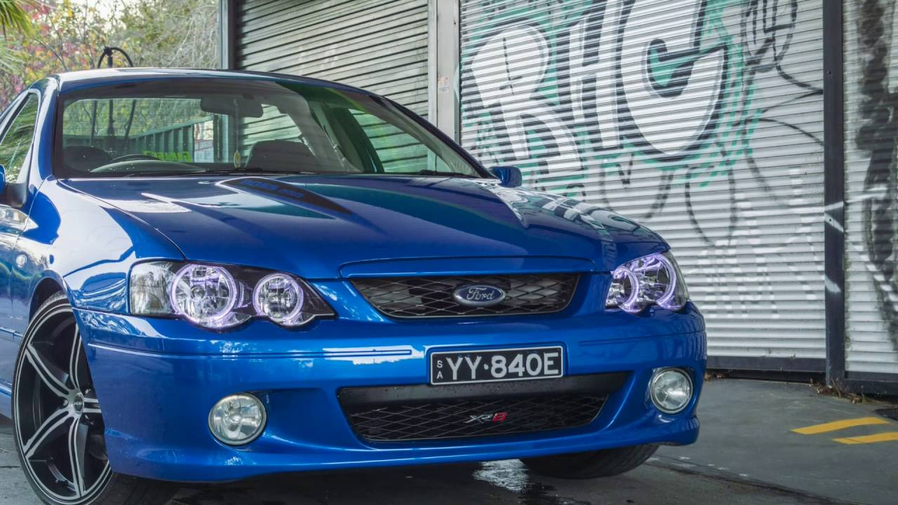 2004 Ford Xr8 Ute With Custom Tray Youtube