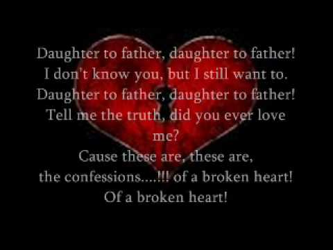 lindsay lohan-confessions of a broken heart lyrics - YouTube