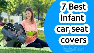 Best Infant car seat covers Reviews 2016