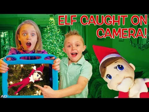 Elf On The Shelf Caught Moving On Camera In Real Life