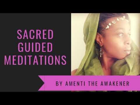 Divine Feminine Womb Awakening Guided Meditation