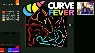 CURVE FEVER #3 with The Sidemen