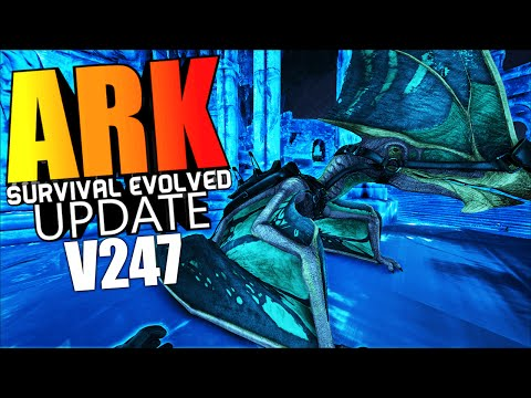 ARK Survival Evolved - TAPEJARA, ARCHAEOPTERYX, NIGHT VISION GOGGLES, ICE FORTRESS - ARK Update v247