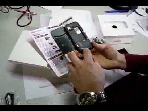 Android Dev Phone/ T-Mobile G1 Unboxing Video-German