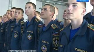 Первокурсники  пожарно-спасательной академии МЧС поселились на о. Русский
