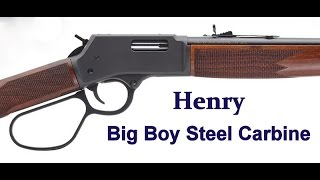Henry's New Big Boy Steel Carbine - .44 Magnum - Fun, Fast & Accurate