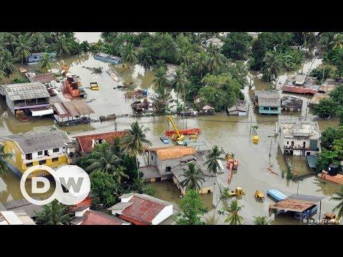 Sri Lanka'da sel felaketi - DW Türkçe