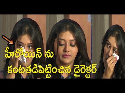 Actress Pooja Jhaveri Crying At Dwaraka Successmeet|Vijay Devarakonda,Pooja Jhaveri