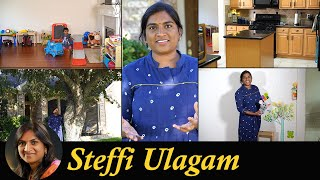 My Home Tour - Steffi Ulagam - Home Tour in Tamil