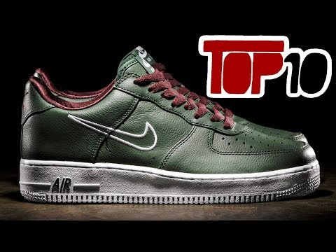 Top 10 Nike Shoes Of 2018