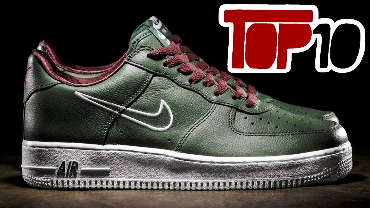 7440382ebb Top 10 Nike Shoes Of 2018 - YouTube