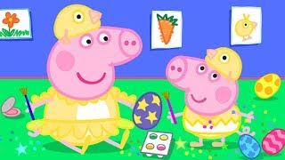 Peppa Pig Official Channel | Easter Colouring at Home with Peppa Pig