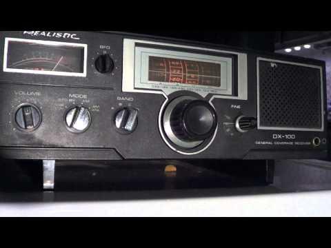 Realistic DX 100 on Arnie Coro Dxers Unlimited on Radio Havana Cuba