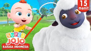 Baa Baa Black Sheep | Lagu Anak-anak | Super JoJo Bahasa Indonesia