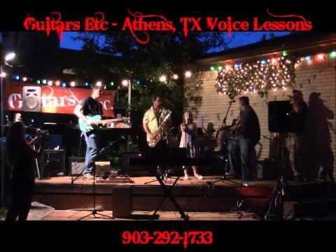 Karolina Yarbrough at Guitars Etc in Athens TX House of the Rising Sun