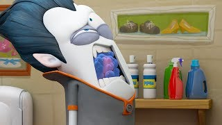 Funny Animated Cartoon   Spookiz Kissing Gives Cula Germs 스푸키즈   Cartoon for Children