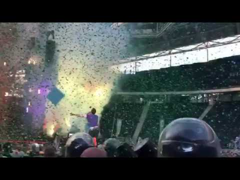 Coldplay - A Head Full Of Dreams live in Leipzig - June, 14