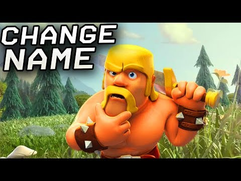 Clash Of Clans - How To Change Name (2019 Update)
