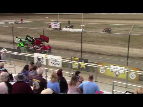 Mt. Baker Academics & Athletics night #2 Ben started 5th and got 1st. - dirt track racing video image
