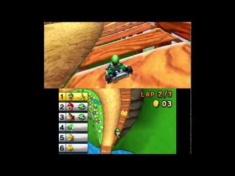 Mario Kart 7 Mushroom Cup