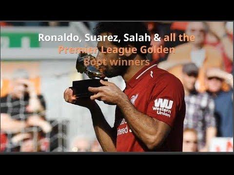 Ronaldo, Suarez, Salah