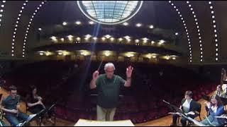 u m symphony band dress rehearsal – 360º view