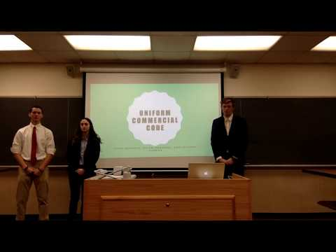 Alma College Commercial Law UCC Presentation