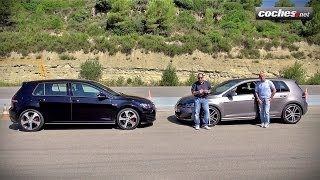 Volkswagen Golf GTI vs GTD en circuito - Prueba / Test / Review Coches.net