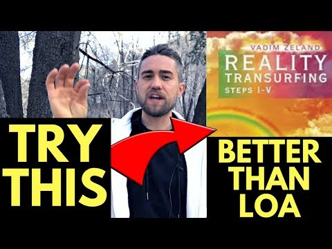 How to Practice Reality Transurfing and Easily Apply it (Law of Attraction Alternative)