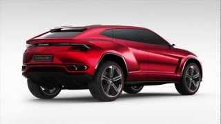 New Lamborghini Urus SUV to Debut at Beijing Auto Show: Latest Images