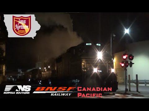 Railfanning IANR in Cedar Rapids, IA BNSF Fort Madison, IA