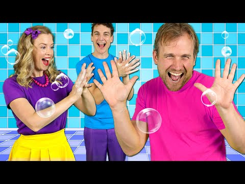 Happy Hands - Kids Hand Washing Song | Healthy Habits