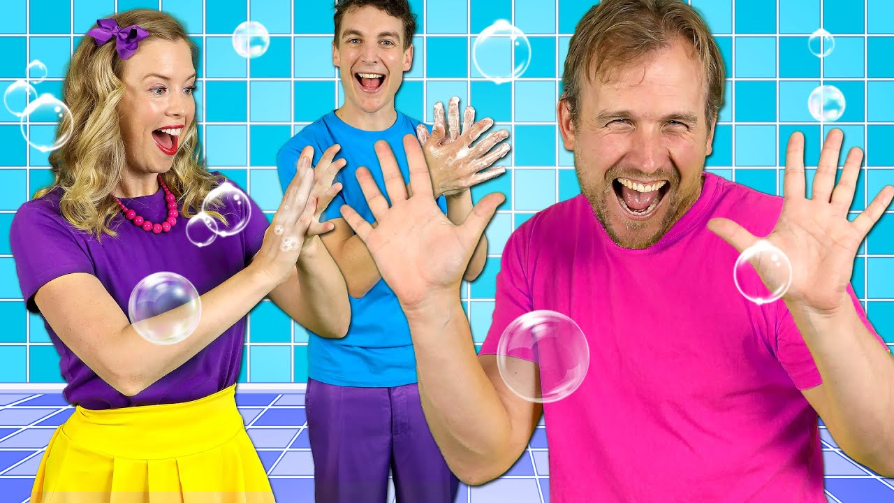 Download Happy Hands - Kids Hand Washing Song   Healthy Habits