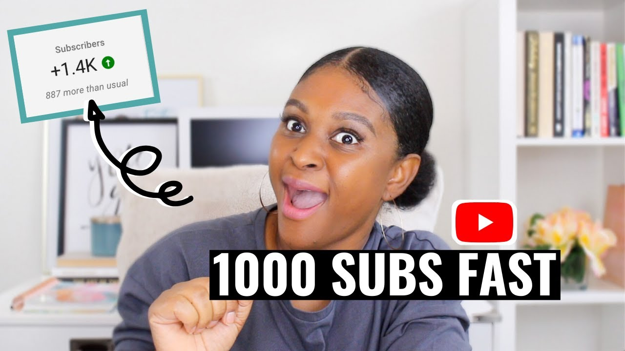 HOW I GOT 1000 SUBSCRIBERS ON YOUTUBE IN 30 DAYS! Tips to grow your channel in 2020
