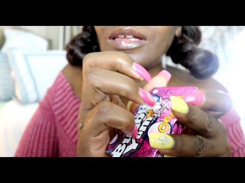🍬 Bubble Gum ASMR Eating Sounds Tap