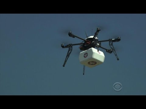 Drones mark first with medical delivery