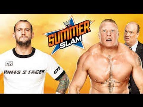 Download CM Punk vs Brock Lesnar l Summerslam 2013 l Combates WWE
