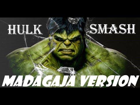 Hulk Smash   Madagaja Version   Super heroes Music  #Greenspidy