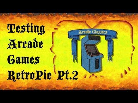 RetroPie Emulationstation Testing MAME & FBA Arcade Games On Raspberry Pi 3 Part 2