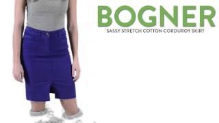 Bogner Sassy Skirt - Stretch Corduroy (For Women)