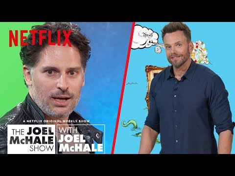 Joe Manganiello Searches for Lost Dog  Joel McHale   Netflix